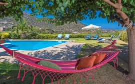 Villas Bali, Μπαλί, Hammock in the garden