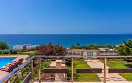 Villa by the Sea, Ierapetra, Balcony with sea view