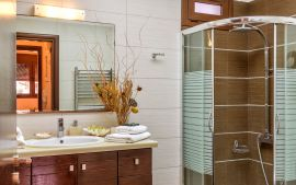 Villa by the Sea, Ierapetra, Bathroom with shower