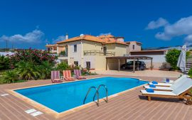 Villa by the Sea, Ierapetra, Pool area