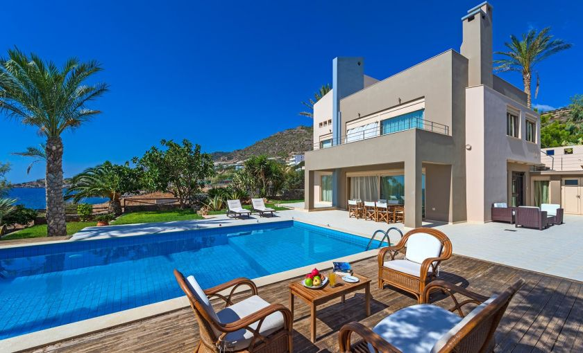 Villa South Crete, Makrigialos, Swimming pool