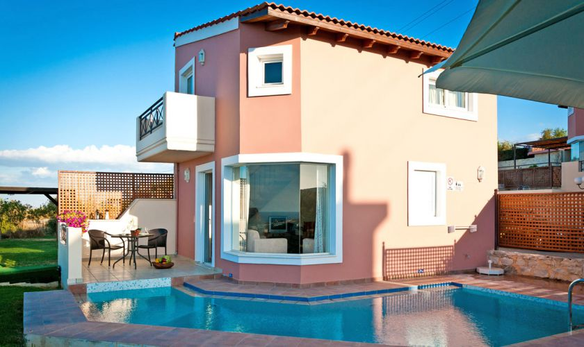 Lofos Village, Agia Marina, 1-bedroom maisonette pool 1