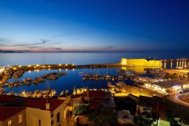 Lato Boutique Hotel, Heraklion Town, Panoramic view from the hotel