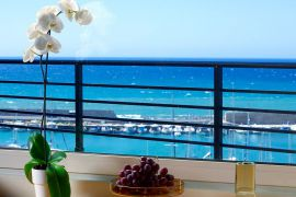 Lato Boutique Hotel, Heraklion Town, Sea view detail