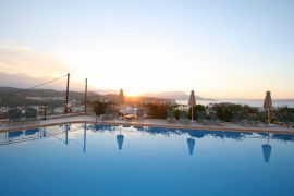 Pegasos Maisonettes, Almyrida, Sunset Pool 2