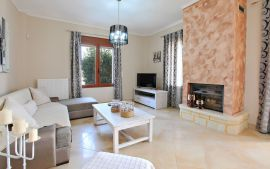 Villa Yianna, Almyrida, Living room 1a
