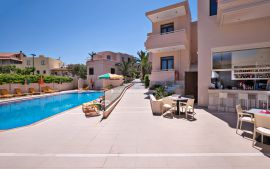 Oscar Suites & Village, Agia Marina, Pool area Ia