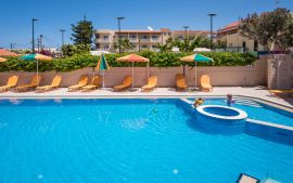Oscar Suites & Village, Agia Marina, Pool area If