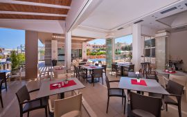 Oscar Suites and Village, Agia Marina, Restaurant Ia