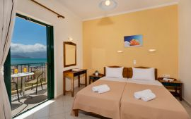 Mesogios Beach, Киссамос, Sea view double room