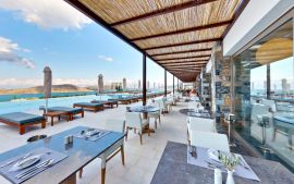 Royal Marmin Bay Boutique and Art Hotel, Elounda, exterior dining area 2