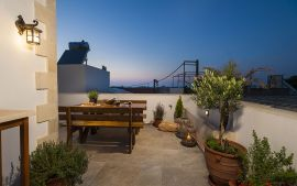 Splanzia Apartment, Chania town, balcony 1