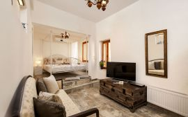Splanzia Apartment, Chania town, bedroom 1a