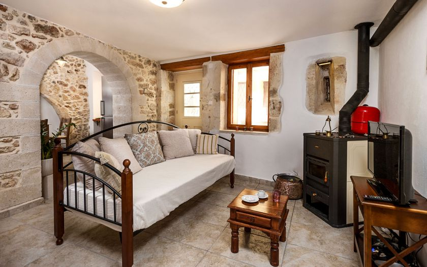 Splanzia Apartment, Chania town, living room 4