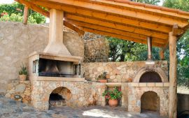 Nature House, Chania (Byen), barbeque 1