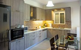 Stylish Apartment, Kalamaki, kitchen 1