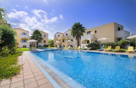 Ilios Apartments, Maleme, pool area 2