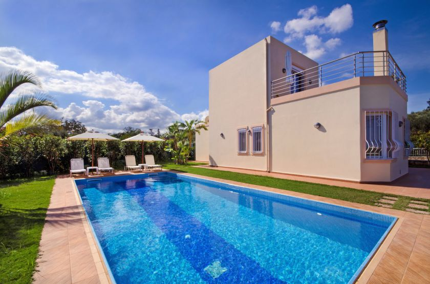 Villa Rest, Gerani, pool area i2