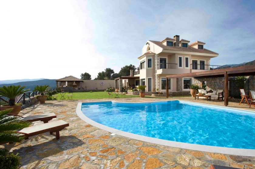 Villa Blue Miracle, Agios Nikolaos, lovely villa 1