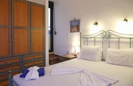 Villa Nafsika, Stalos, double bedroom 1b