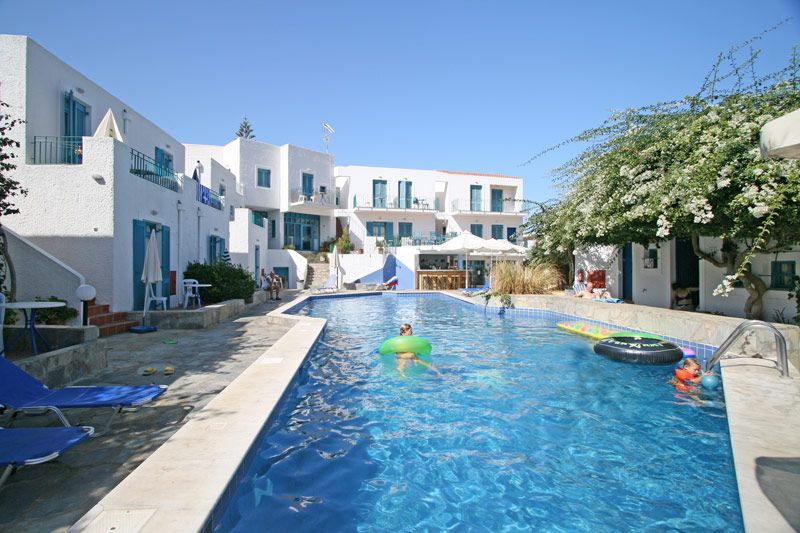 Kirki Village, Πάνορμο, Kirki Apartments Pool 11