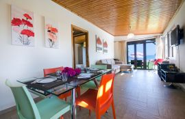 Seafront House, Agia Marina, open plan area i