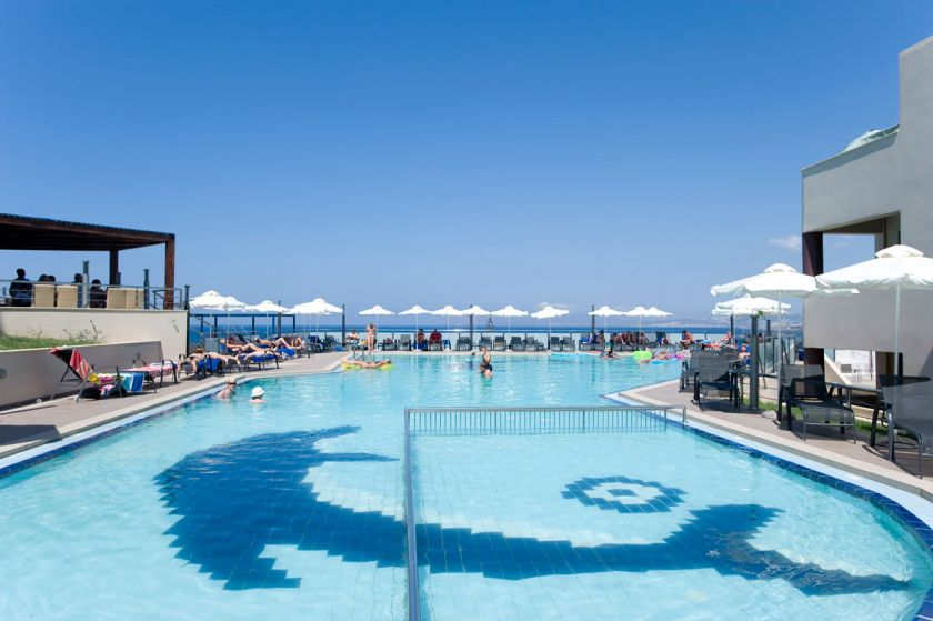 CHC Galini Sea View Hotel, Agia Marina, pool
