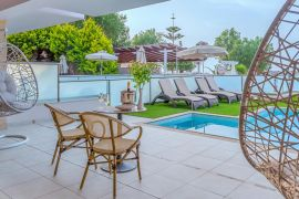 Porto Platanias Beach Resort, Platanias, suite private pool sea view 3