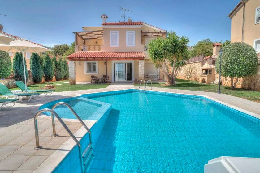 Flower Villas, Gerani, pool b villa 1