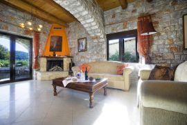 Charming Villa, Platanias, living room 1