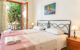Villa Stavromenos, Ставроменос, twin bedroom 3