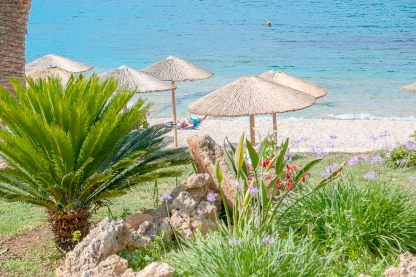 Beach Apartment, Agia Pelagia, sandy beach