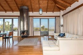Wooden Art Apartment, Chania town, livingroom3