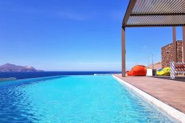 Villa Thea, Almirida, sea view pool 5