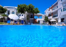 Minos Village, Agia Marina, in the pool 1