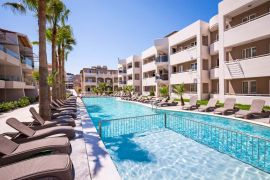 Athina Apartments Platanias, Platanias, swimming-pool-nearby-hotel-1