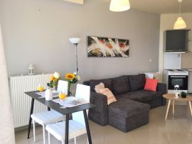 Pretty Apartment, Chania town, open plan 2