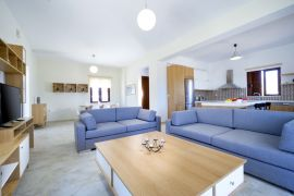 Seaside Villa Balos, Kissamos, open plan 1