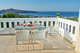 Villa Colorful, Agia Marina, balcony view 4