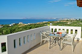 Villa Colorful, Agia Marina, balcony view 5