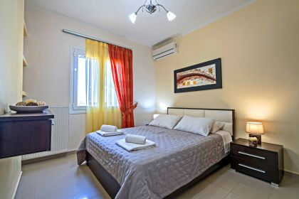 Villa Colorful, Agia Marina, bedroom 1b