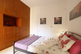 Cheerful Apartment, Chania town, bedroom double bed 1b