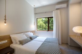 Nature Treasure Villa, Κουρνάς, twin bedroom 1a