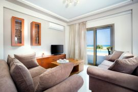 Beach Villas, Tavronitis, living room corner 1