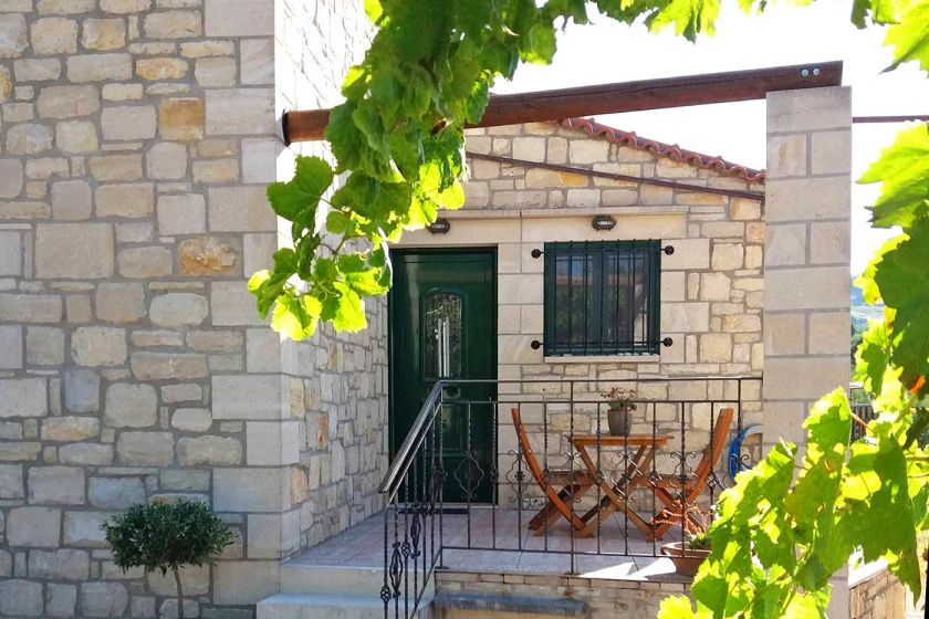 Stone Home, Plakias, entrance 2