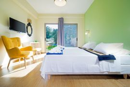 Villa Princess, Litsarda, bedroom-3-ground-floor
