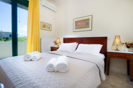 Afroditi Apartment, Chania town, afroditi-bedroom-1a-double-bed