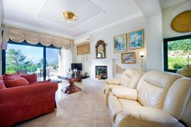 Afroditi Apartment, Chania town, afroditi-living-room-area