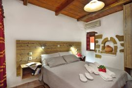 Topolia Villas, Falassarna, 1-bedr-villa-double-bedroom
