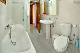 Topolia Villas, Φαλάσσαρνα, 1-bedr-villa-ensuite-bathroom